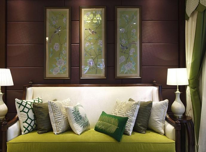 青松翠绿-中式风格