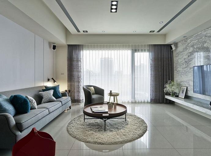 清新洁白-现代风格