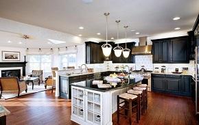 成都装修网,成都装修,成都装修公司,成都装修公司,馨居尚装饰开放式厨房好吗?设计的时候应该注意什么?