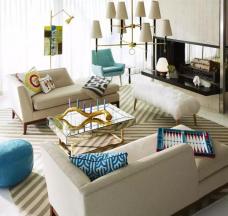 成都装修网,成都装修,成都装修公司,成都装修公司,馨居尚装饰家里沙发这样摆,显得空间大