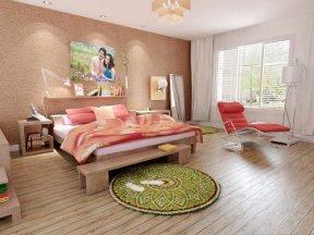 成都装修网,成都装修,成都装修公司,成都装修公司,馨居尚装饰卧室床头背景墙设计的好,睡眠质量都提高了
