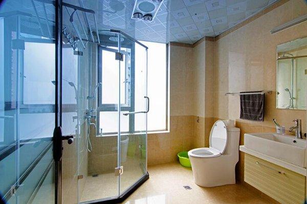 装修案例卫生间对于门的设计禁忌,还有这些说法