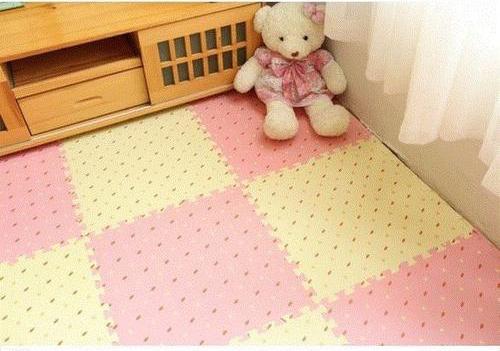 儿童房装修你会选地毯或是泡沫垫